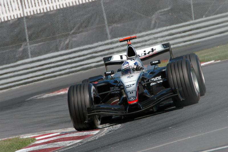 David Coulthard at the 2004 Canadian Grand Prix