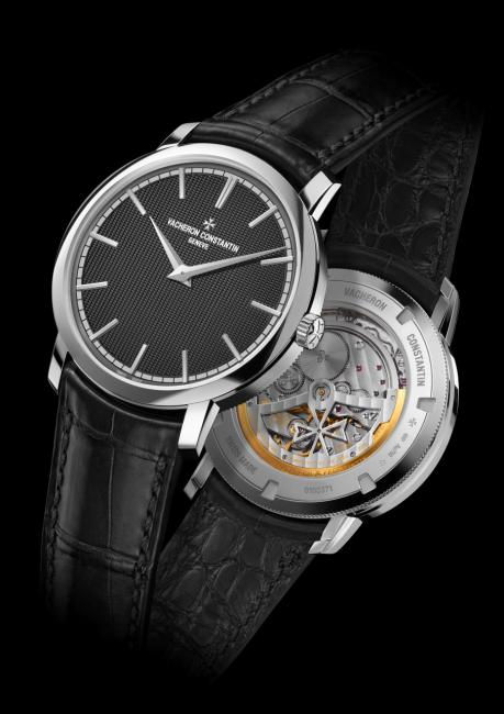 18k white gold Vacheron Constantin Traditionnelle Moscow Boutique Edition, limited to 30 pieces.