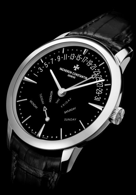 Vacheron Constantin Patrimony retrograde day and date model issued in 20 pieces.
