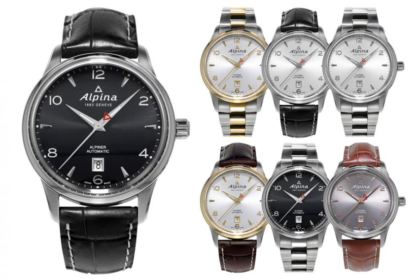 The several iterations of the Alpiner Automatic.