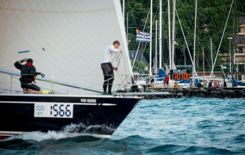 Bol d'Or Mirabaud on Lake Geneva is the world's premier inland lake regatta, bringing together almost 600 yachts.