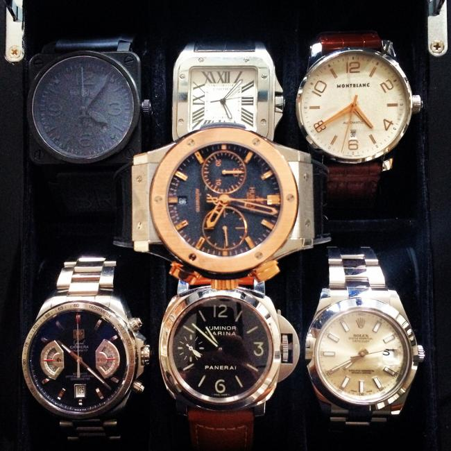 FormulaTime's watch collection.