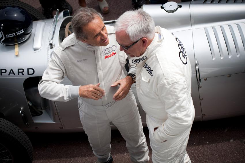 Jacky Ickx and Gerhard Berger