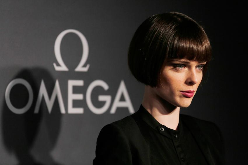 Model, Coco Rocha at the OMEGA Dark Side of the Moon Event