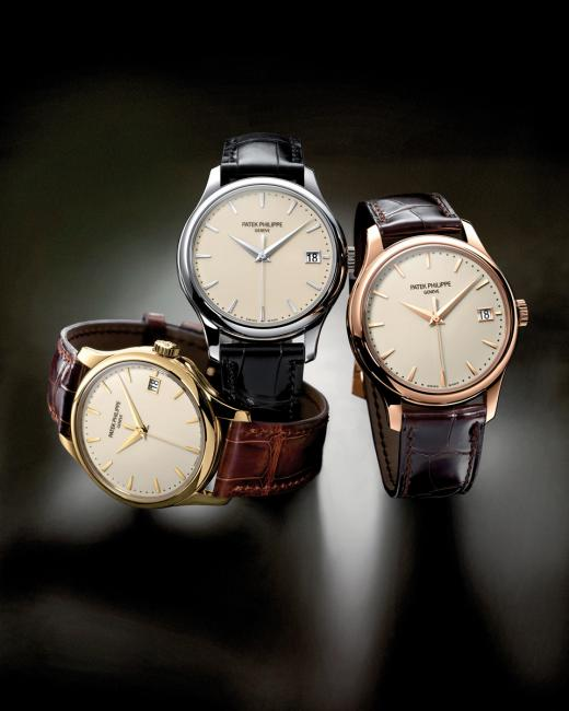 Patek Phillipe Calatrava 5227 collection.