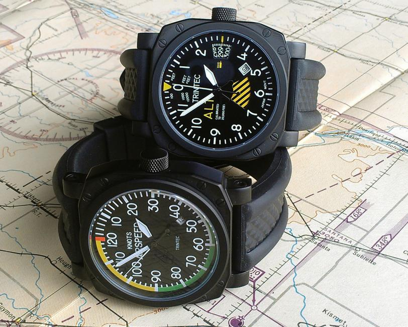 Trintec 9060SE Altimeter and 9061SE Airspeed