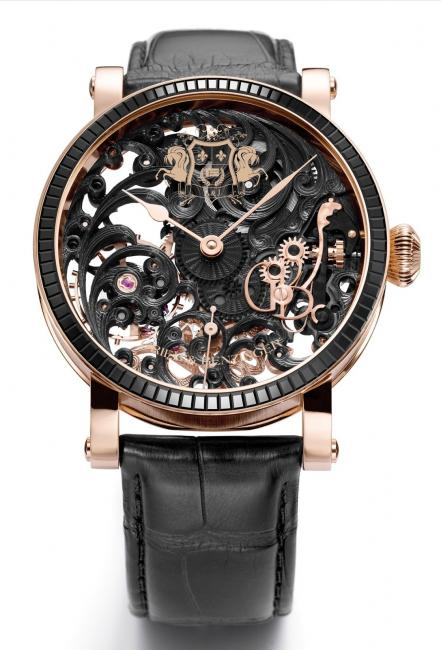 Black Tulip Sabudha Imperial, the timepiece that introduced Grieb & Benzinger to the Middle East.