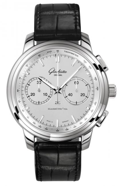 Glashutte Senator Chronograph XL was first presented at the 2010 Baselworld