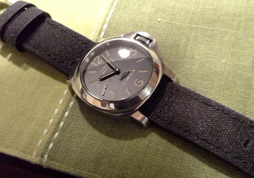 PAM00540 on a custom made strap.