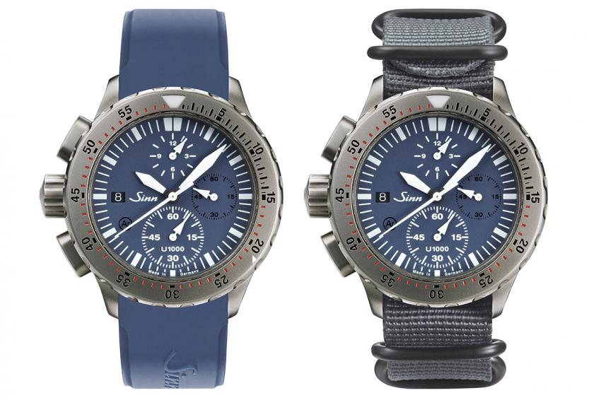 Sinn U1000 B (EZM 6) diving chronograph, limited edition, only available until 31 December 2014