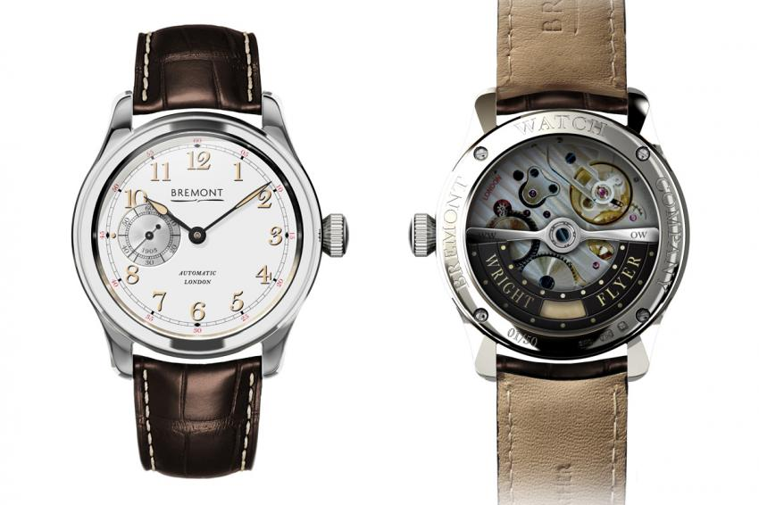 Bremont Wright Flyer White Gold