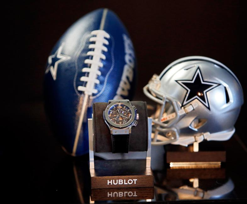 Hublot Classic Fusion Dallas Cowboys limited to 50 pieces.
