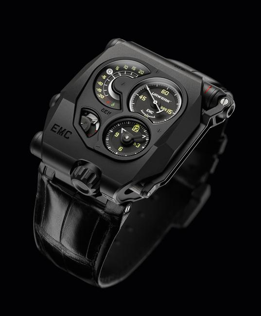 Mechanical Exception Watch Prize: Urwerk, EMC, again, no surprises here.
