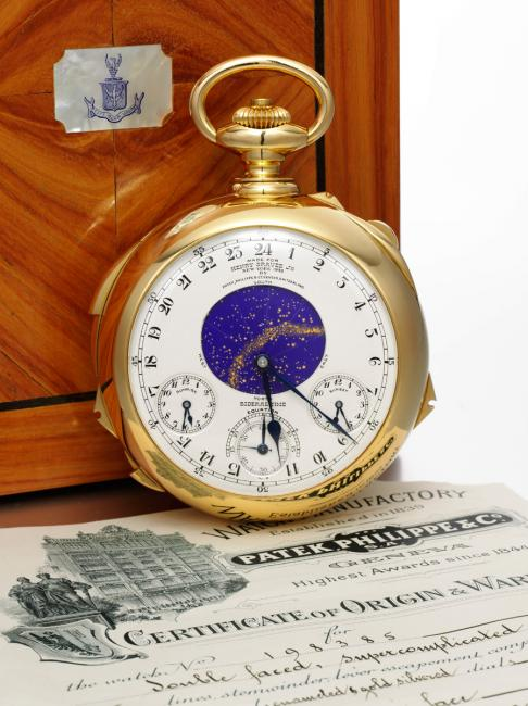 The Henry Graves Supercomplication made by Patek Philippe in 1933 (c) Sotheby's