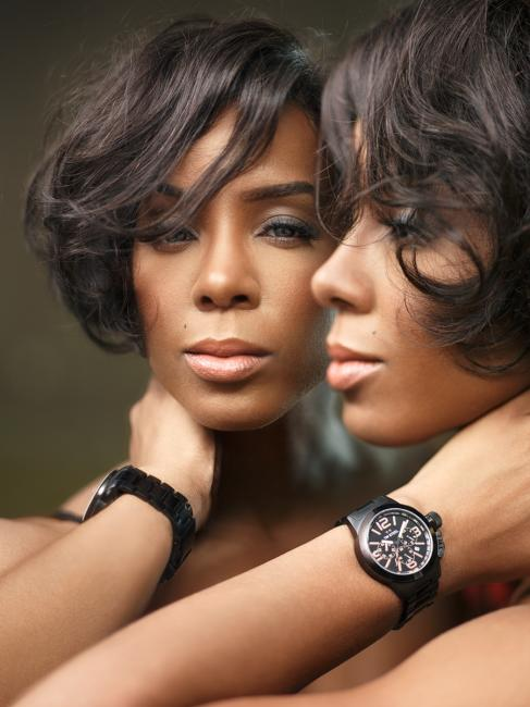 Kelly Rowland and her TW Steel. Photo by famous fashion and music photographer, Rahi Rezvani.