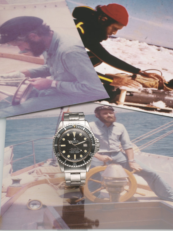 Philippe Cousteau's Rolex Sea-Dweller