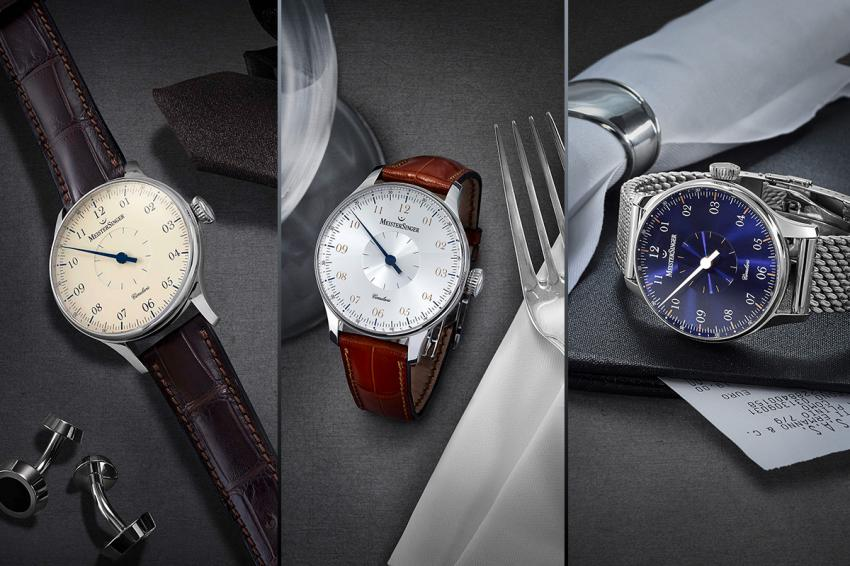 MeisterSinger Circularis collection is launched with three models with ivory, silver and blue dials.