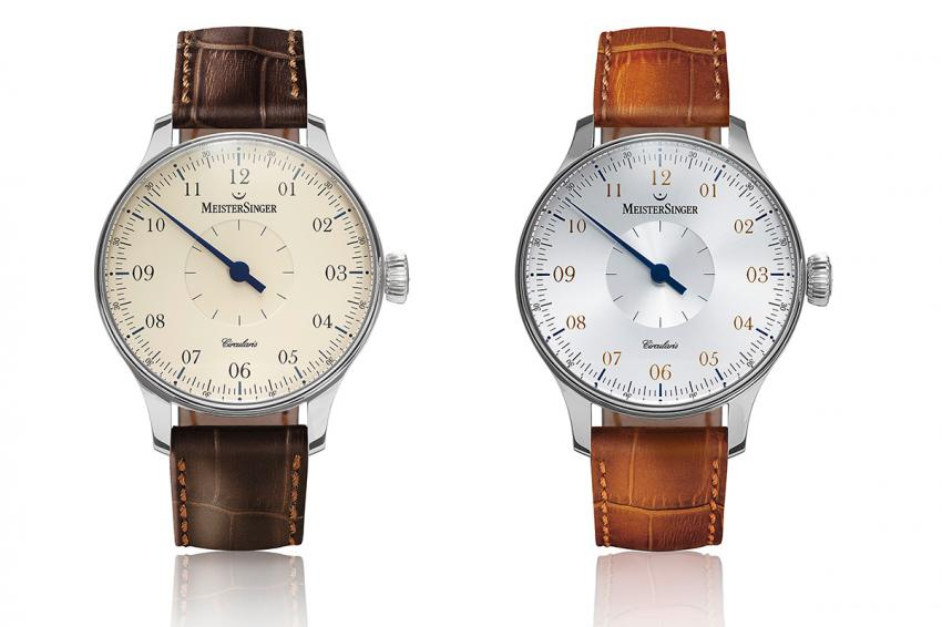 MeisterSinger Circularis ivory and silver.