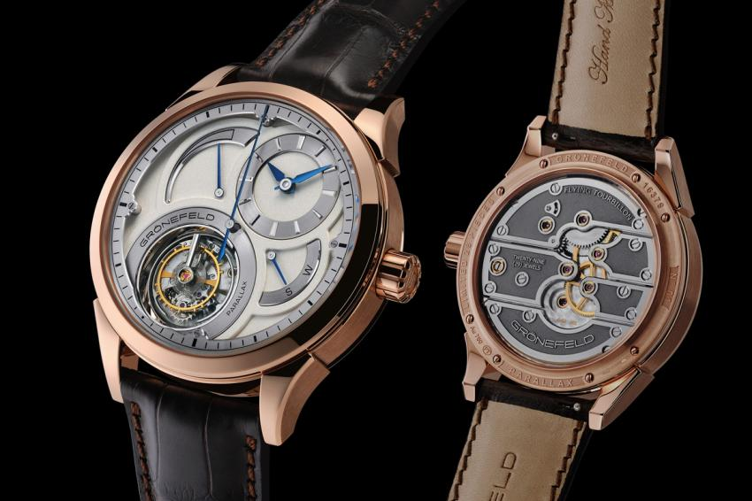 The Tourbillon Watch Prize went to Grönefeld Parallax Tourbillon.