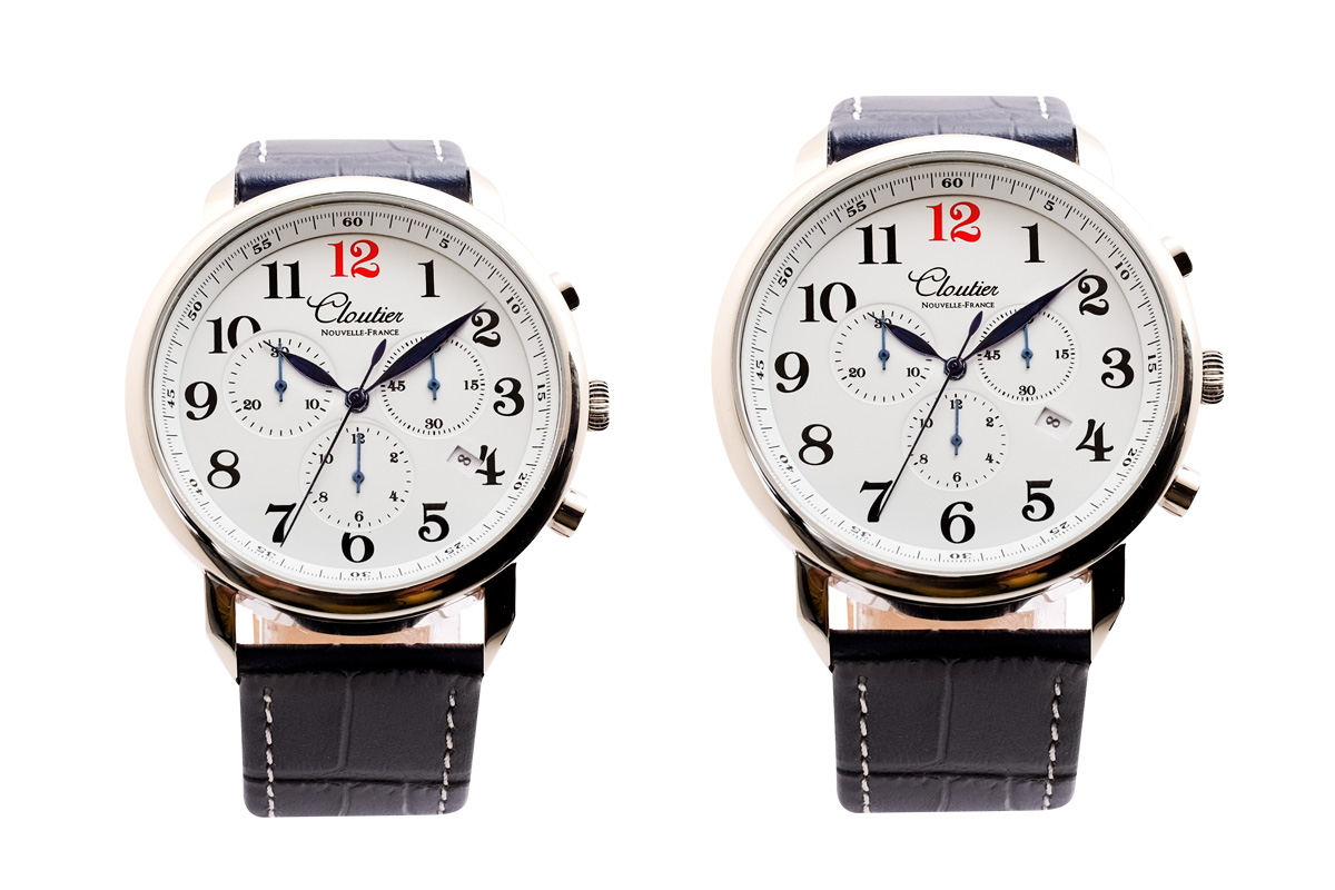Cloutier nouvelle france dress watches with a philanthropic side watchpaper for Watches of france