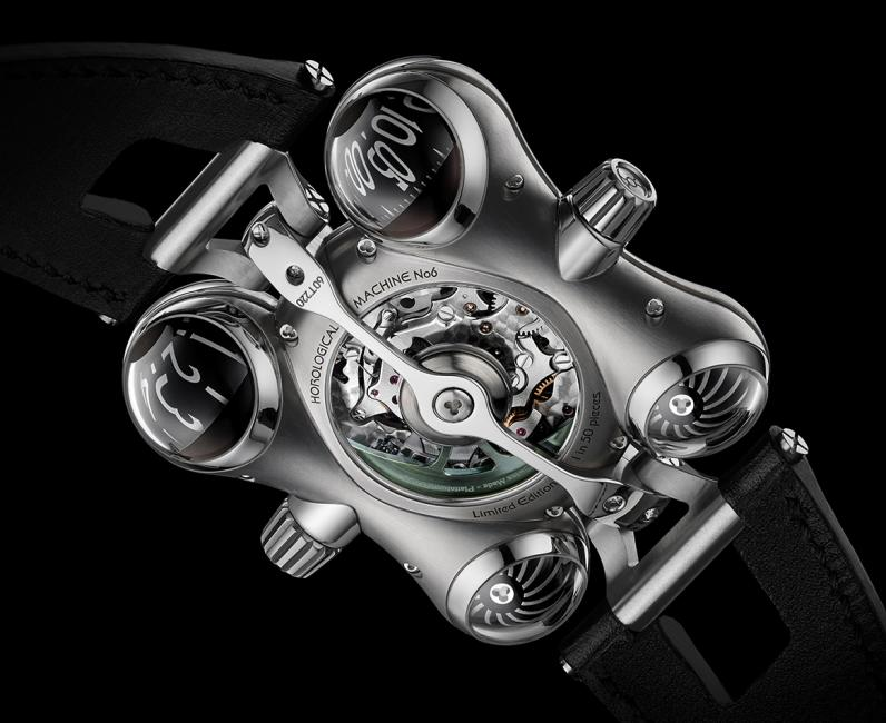The back of the MB&F HM6