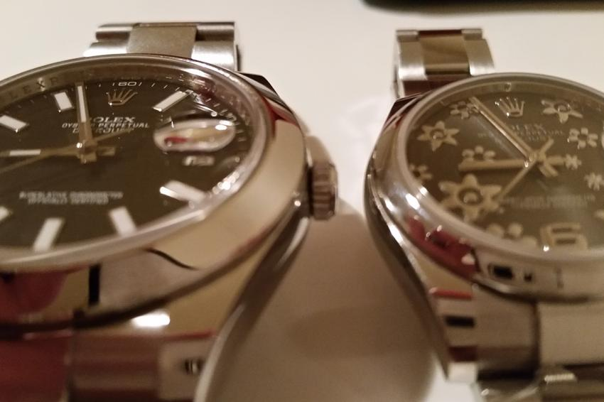 Datejust II and Lady Datejust
