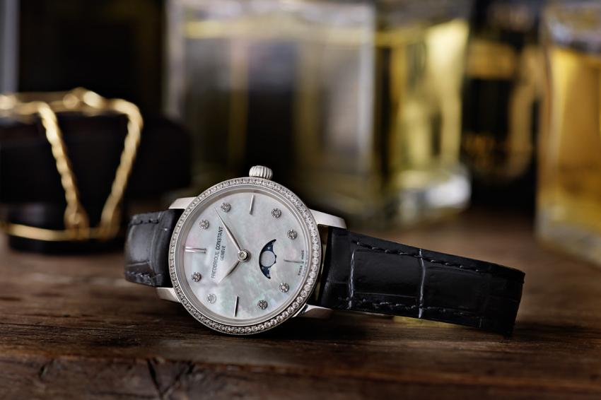 Frederique Constant Slimline Moonphase Lady