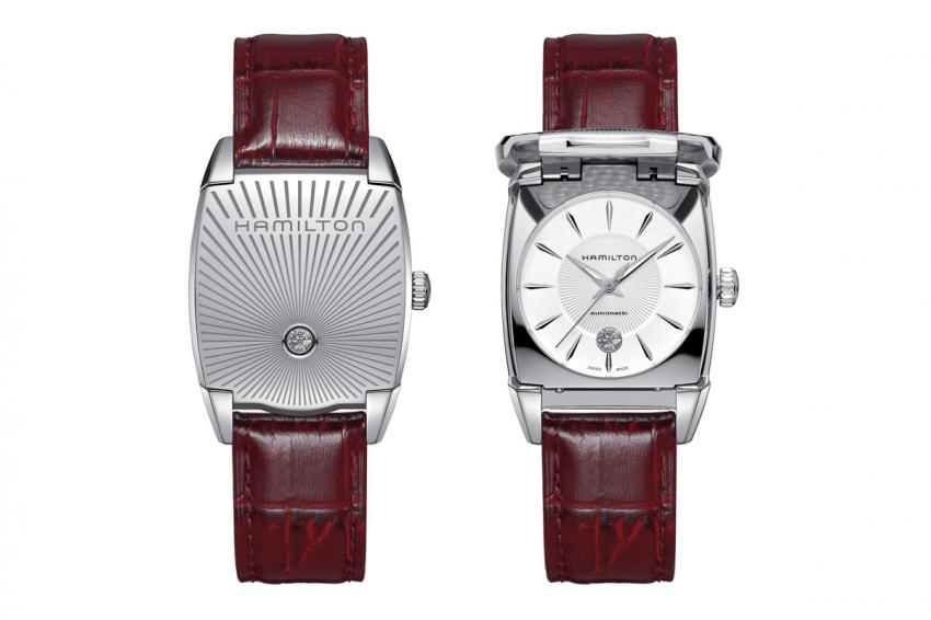 Presented at Baselworld 2014, the Hamilton Flintridge is inspired by a sport watch from the 1930s.