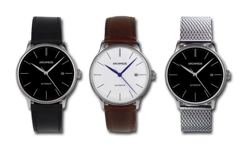 Here is the latest collection of the Pforzheim based ARCHIMEDE, the vintage inspired 1950's.