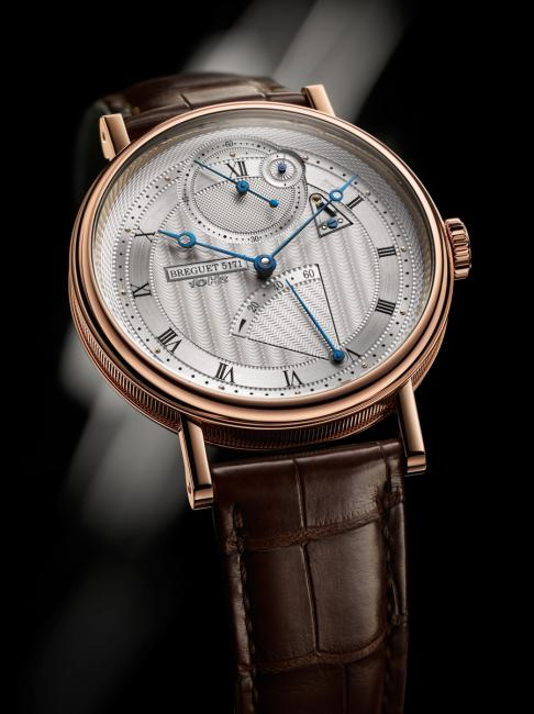 "The most prestigious prize at the 2014 GPHG, the ""Aiguille d'Or"" Grand Prix, was awarded to Breguet for the Classique Chronométrie."