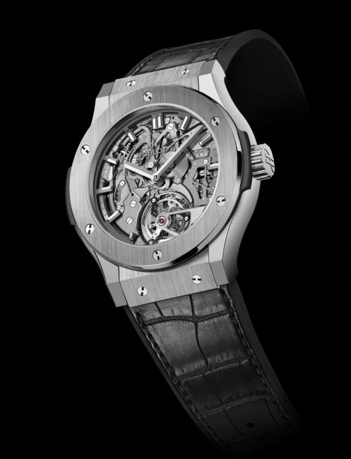 Striking Watch Prize: Hublot, Classic Fusion Cathedral Tourbillon Minute Repeater.