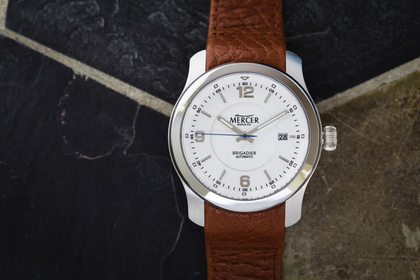 "Mercer Watch Co.'s debut piece, ""The Brigadier"""