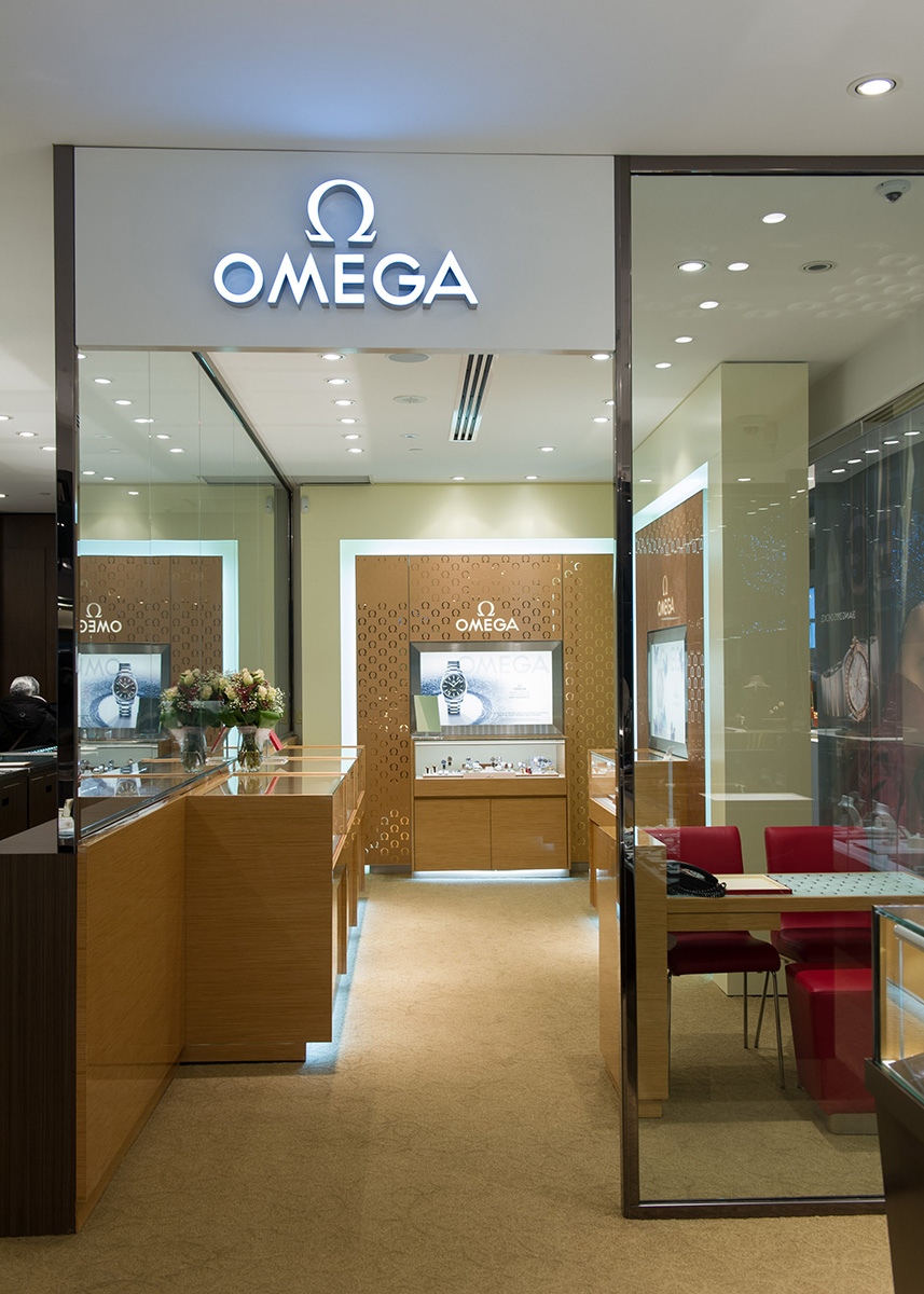 Omega opens boutique in toronto 39 s yorkdale shopping centre for Centre boutique
