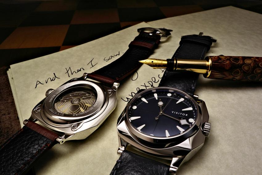 The Calligraph Duneshore, Visitor Watch Co.'s debut piece.