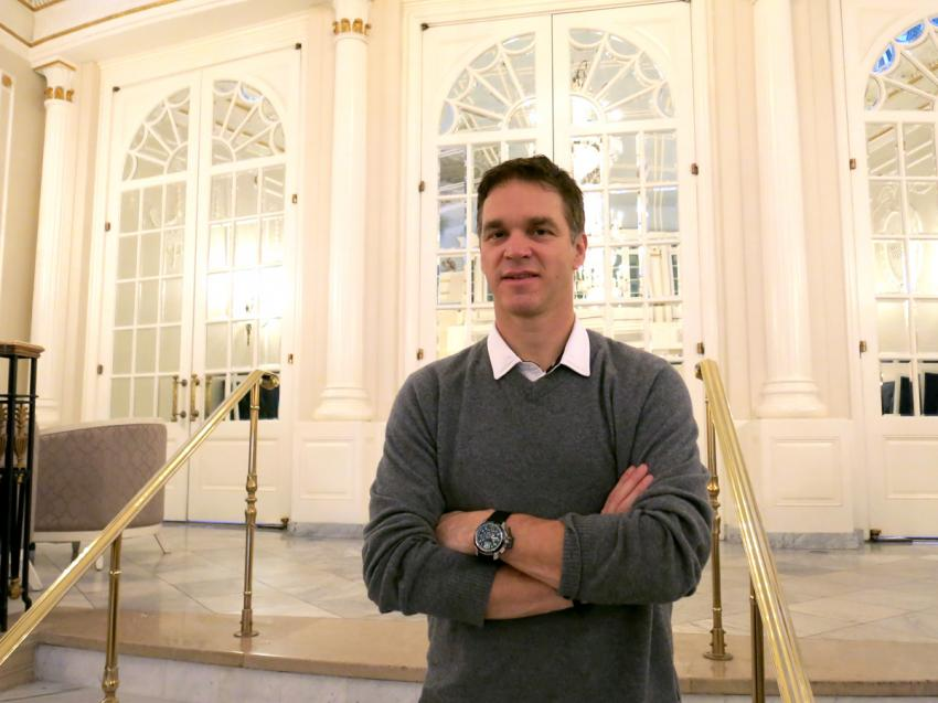 Luc Robitaille at the Ritz Carlton, Montreal