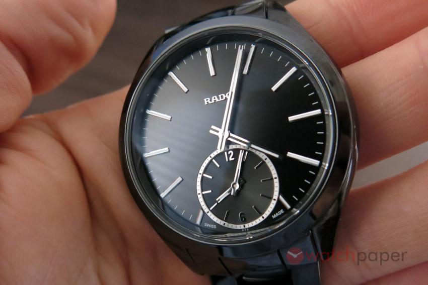 The minimalist dial of the HyperChrome Touch Dual Timer.