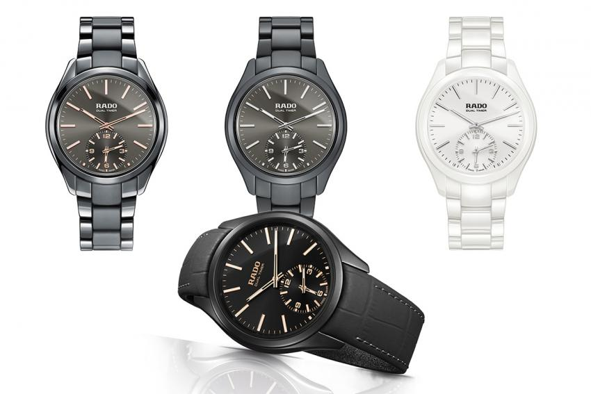 Other colour options for the Rado HyperChrome Touch Dual Timer