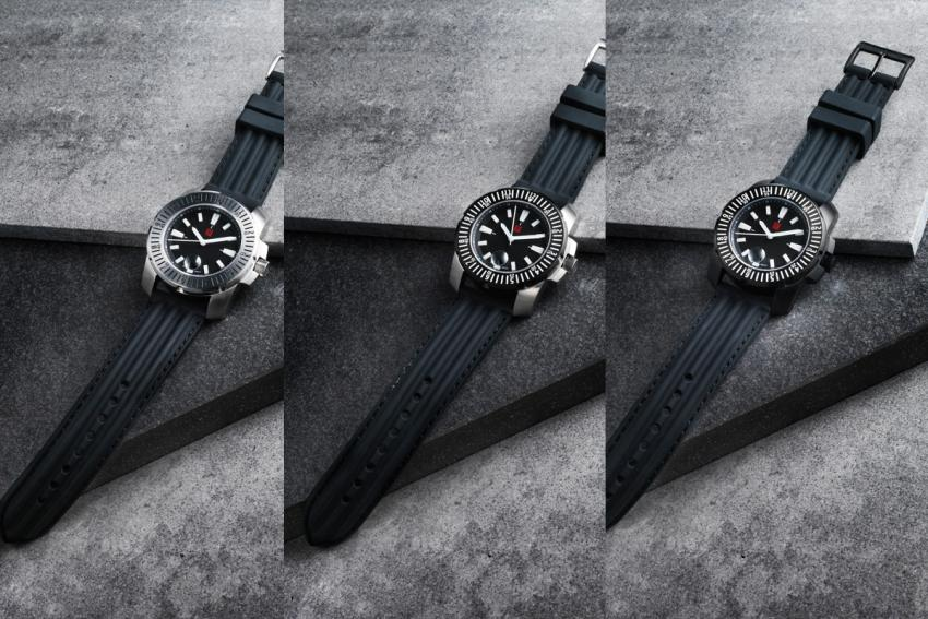 Florijn Watches debut collection: the Een, the Twee and the Drie