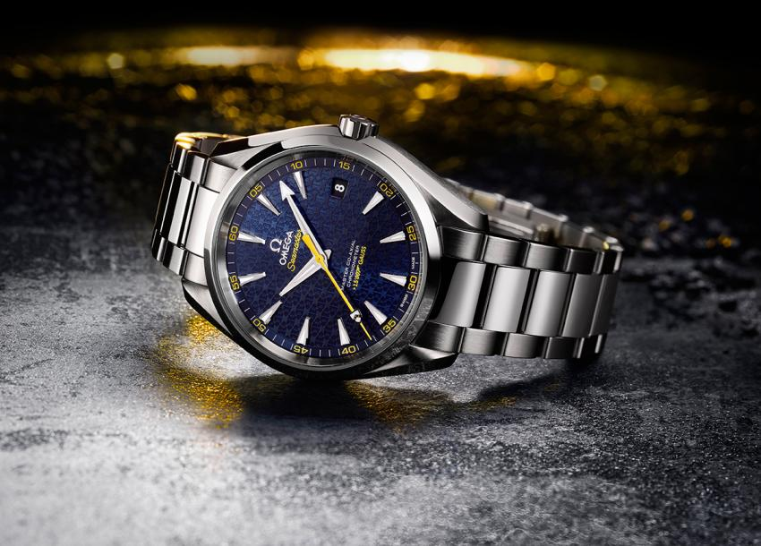 The next James Bond watch is the limited edition Omega Aqua Terra 150M