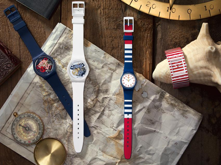 The marine inspired Red, White & Blue