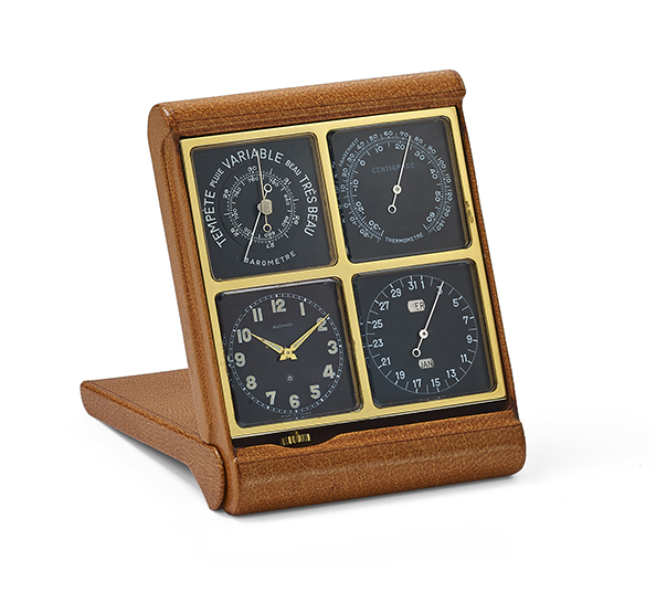 Angelus Foursome compact table clock