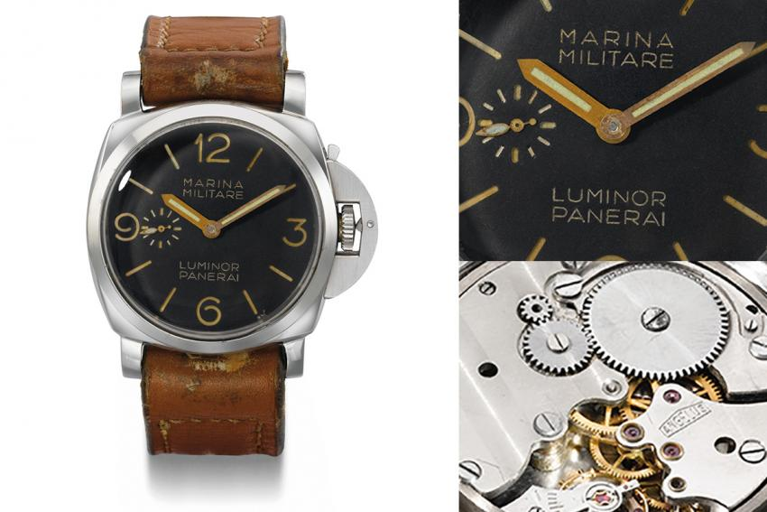 In 1939 Panerai chose Angelus 8-day caliber SF240 to power watches made for the Italian navy