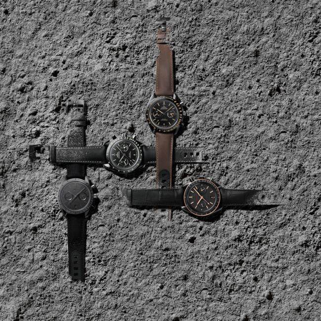 The Speedmaster Dark Side Of The Moon collection is expanded with four new models.