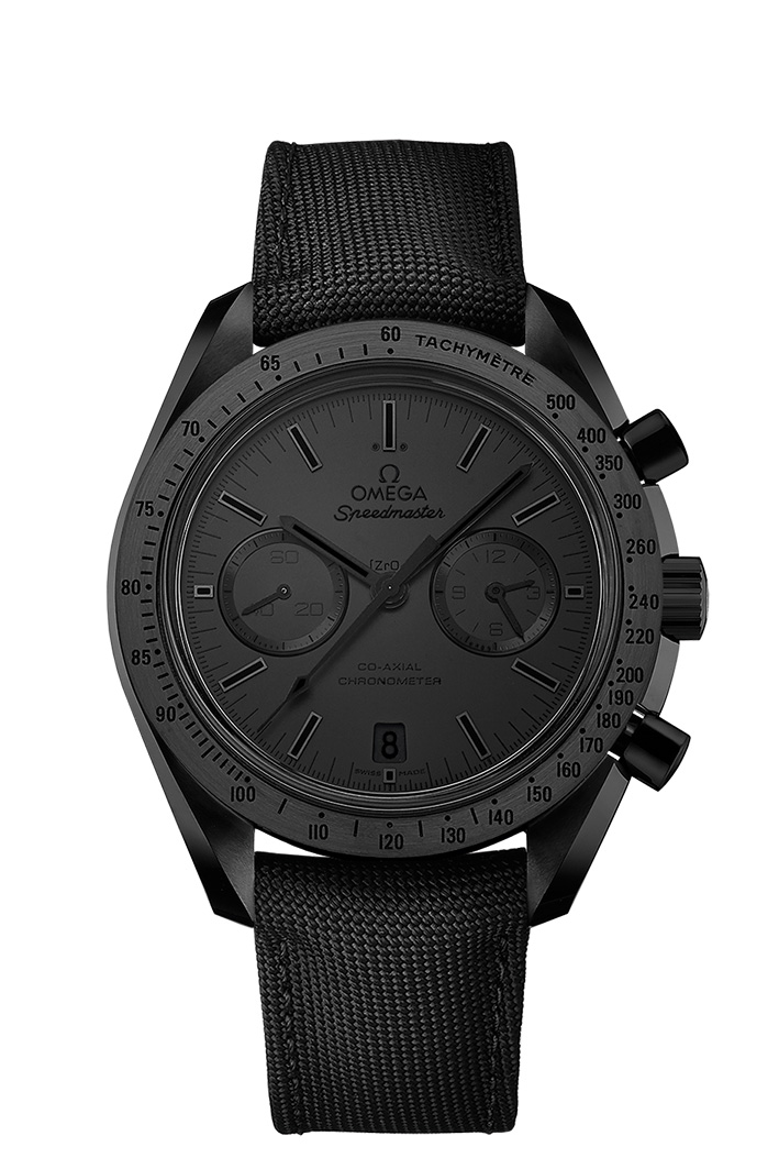 Four new OMEGA Dark Side of the Moon watches