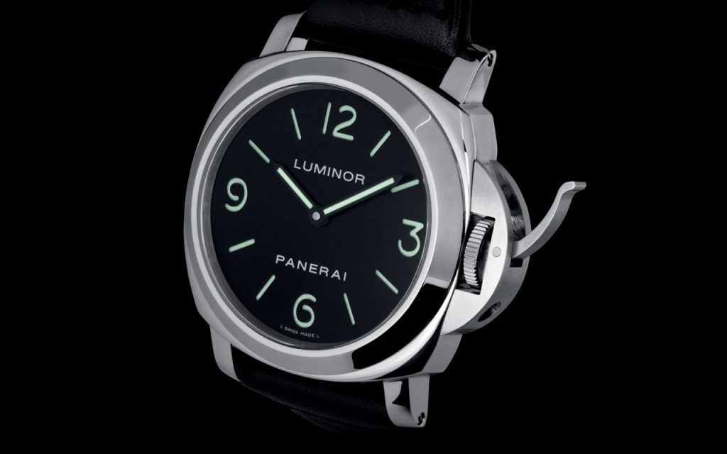 Panerai PAM00112 Luminor Base Acciaio watch replica