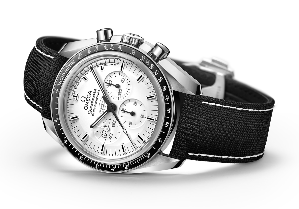 The 2015 omega speedmaster apollo 13 silver snoopy award watchpaper for Snoopy watches