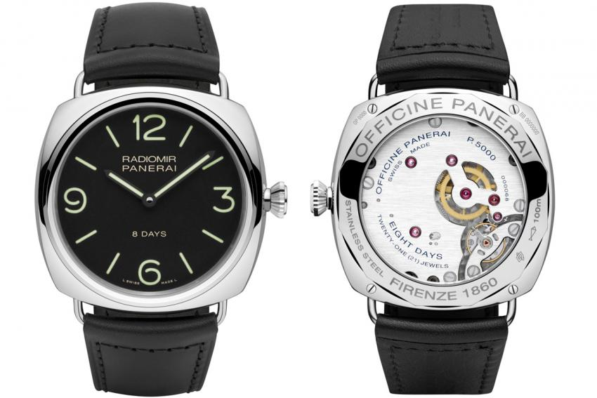 PAM00610 powered by the hand-wound P.5000 in-house calibre.