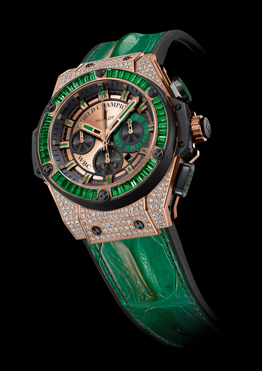 Image result for mayweather green hublot