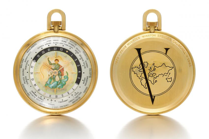 Sotheby's announces the auction of an exceptional timepiece  specially commissioned for, and cherished by Sir Winston Churchill