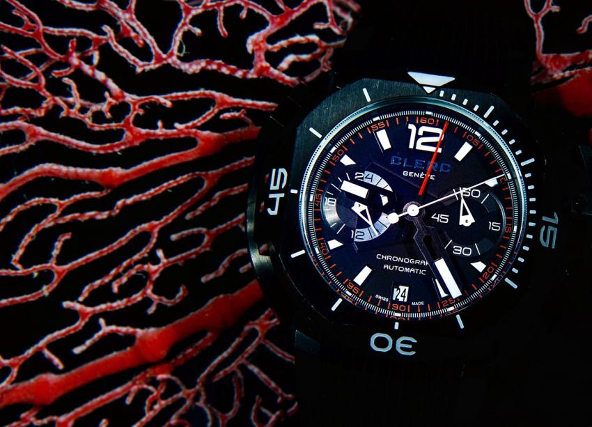 Clerc Hydroscaph Chrono at the Great Barrier Reef in Australia